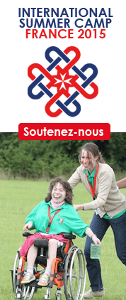 Banniere camp international france 2015
