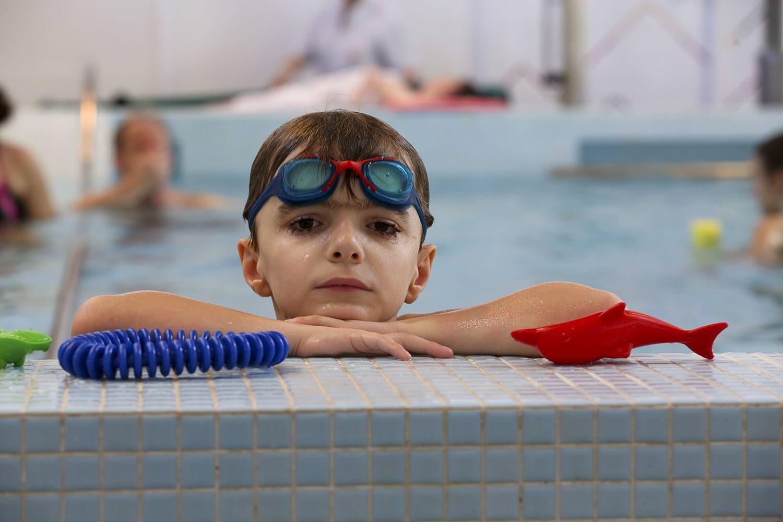 Mieux vivre son hospitalisation - Cours de natation